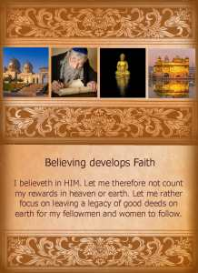 52 STS - Believing develops faith